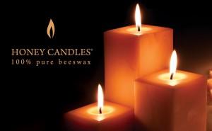 honey-candles